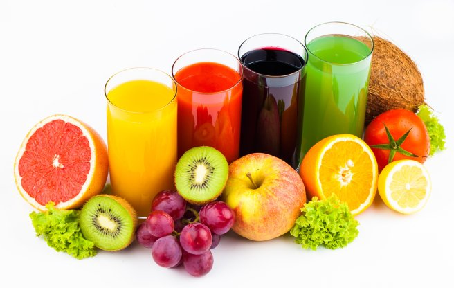 Seasonal fruit juice for health